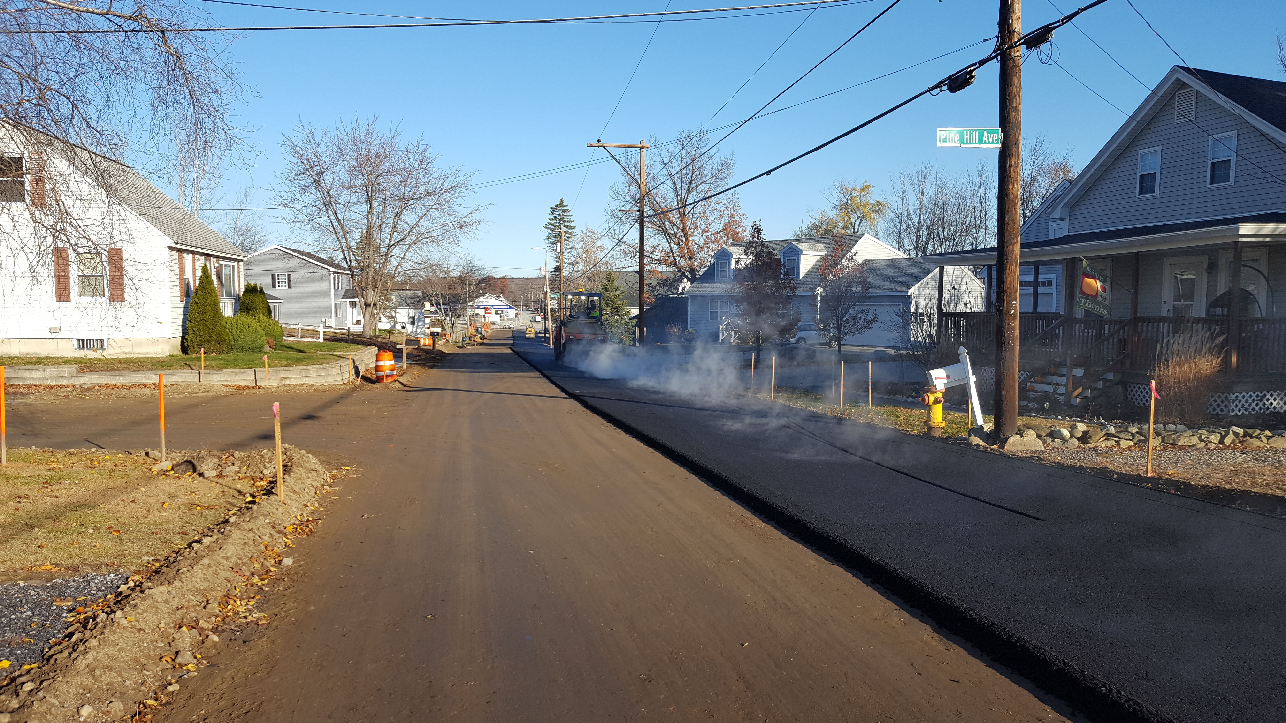 College Road Nov 18 2016 paving 8