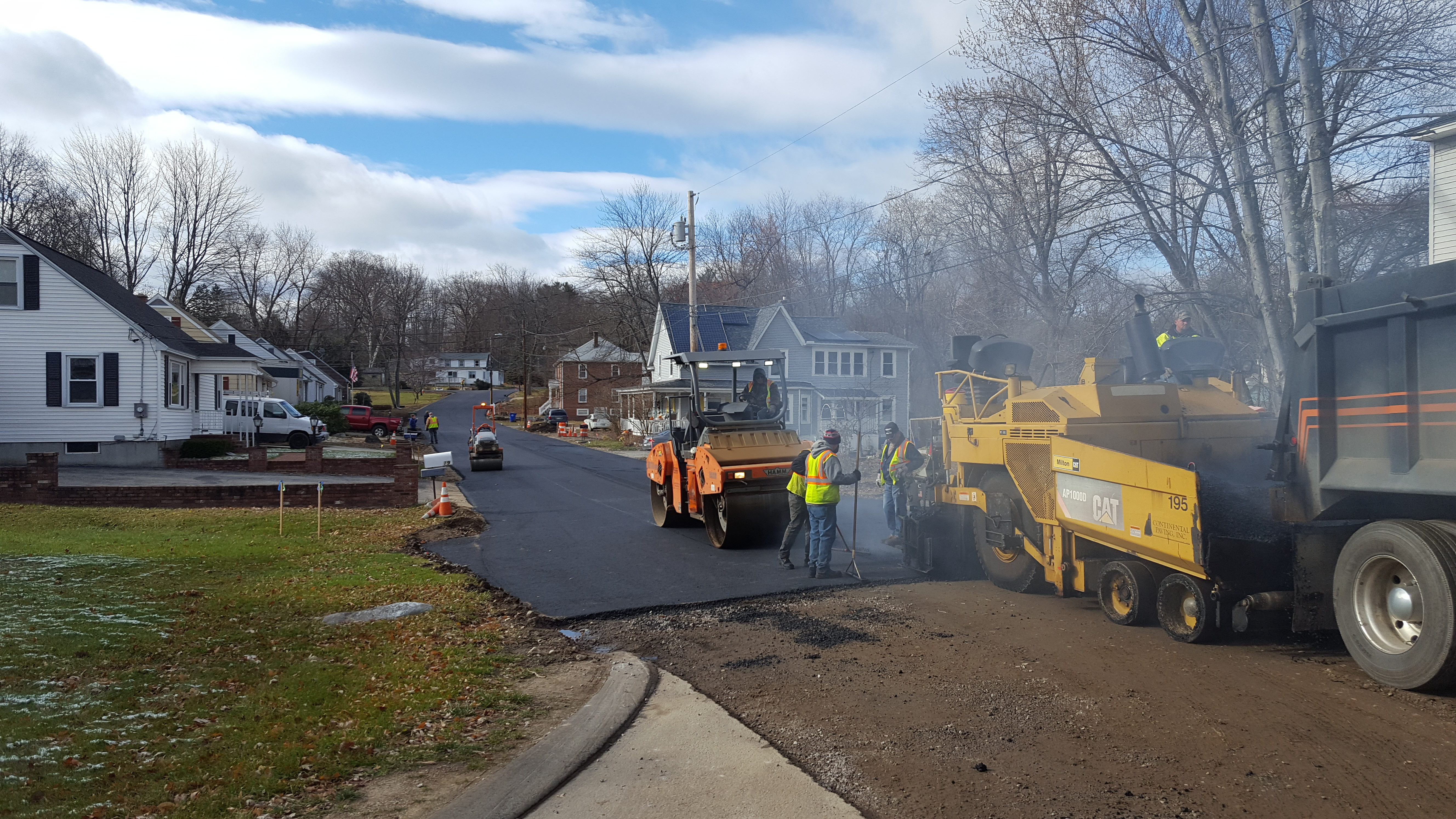 Glenridge Nov 21 2016 paving 5