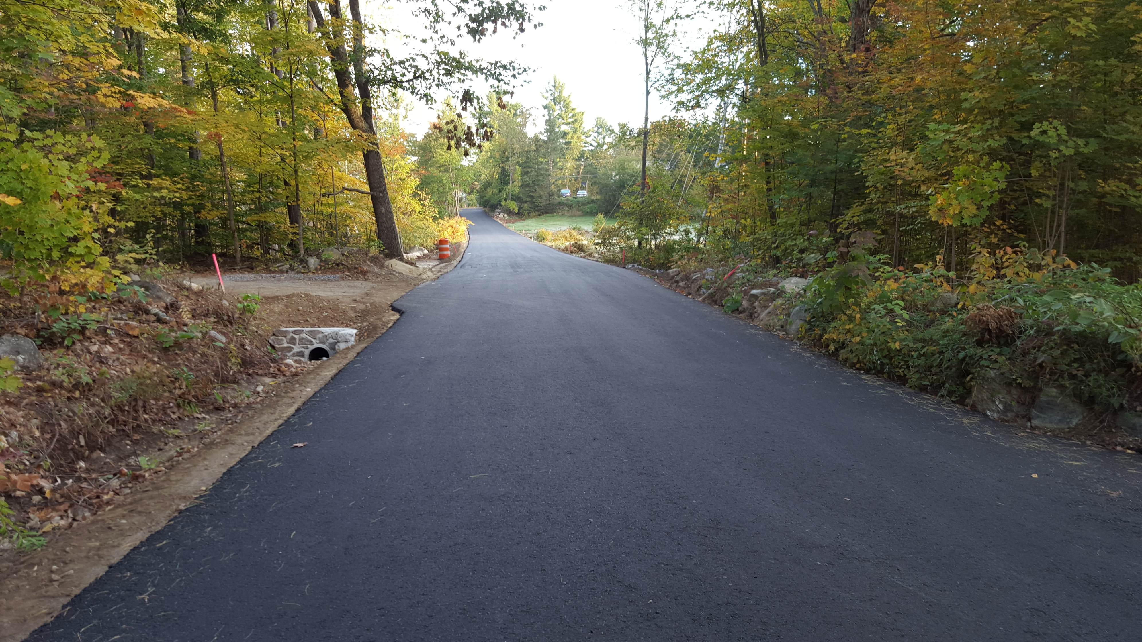 Bell Road base paved 2