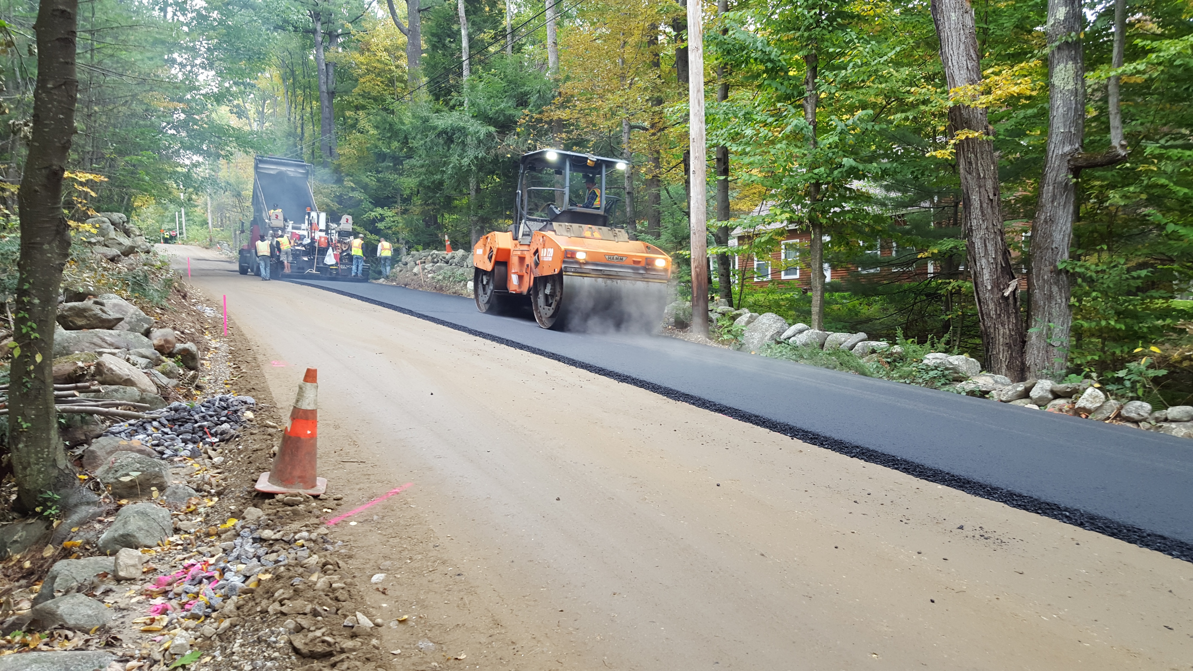 Hoosett Rd base paving 10 2 15 22