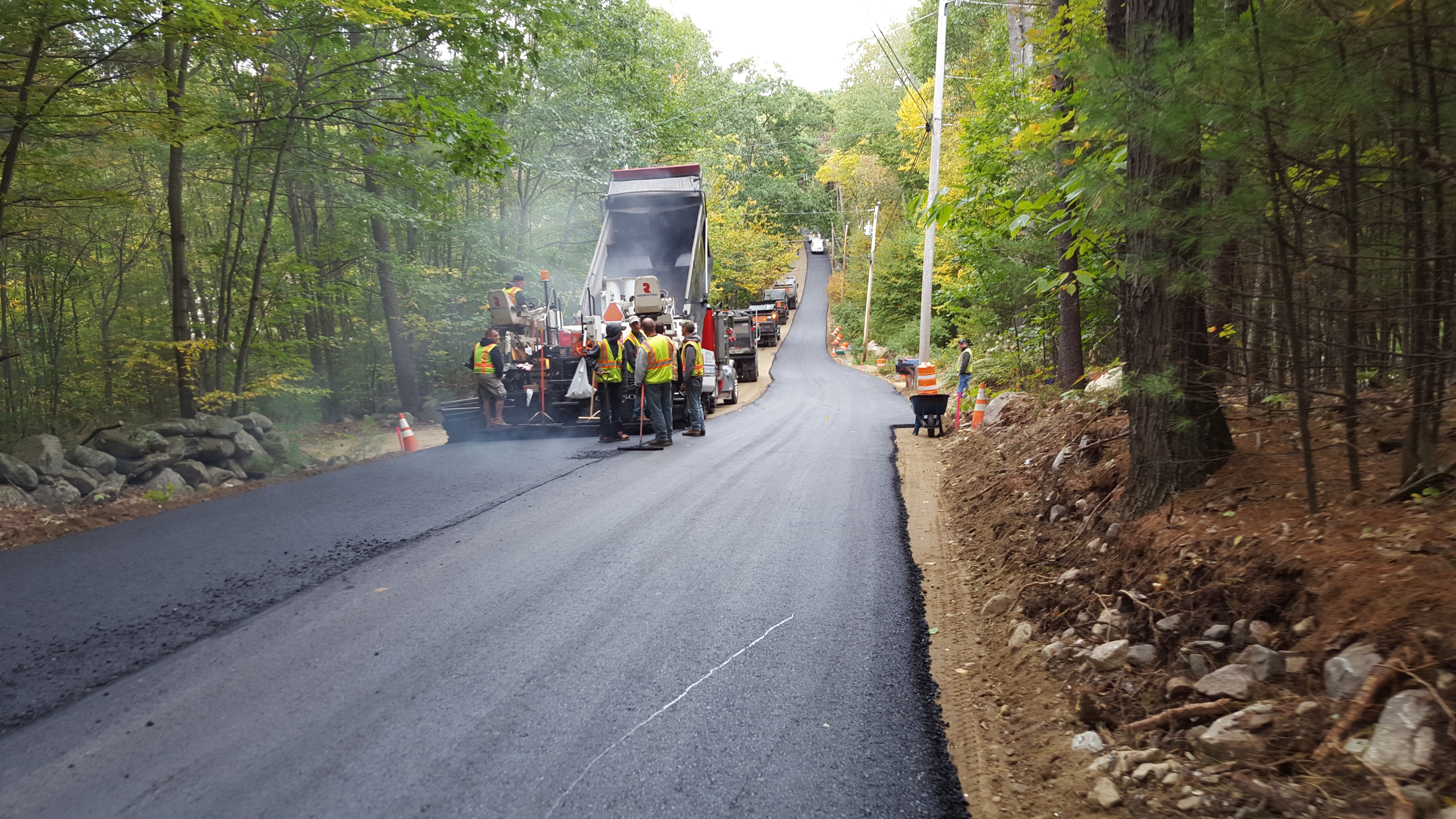 Hoosett Rd base paving 10 2 15 33