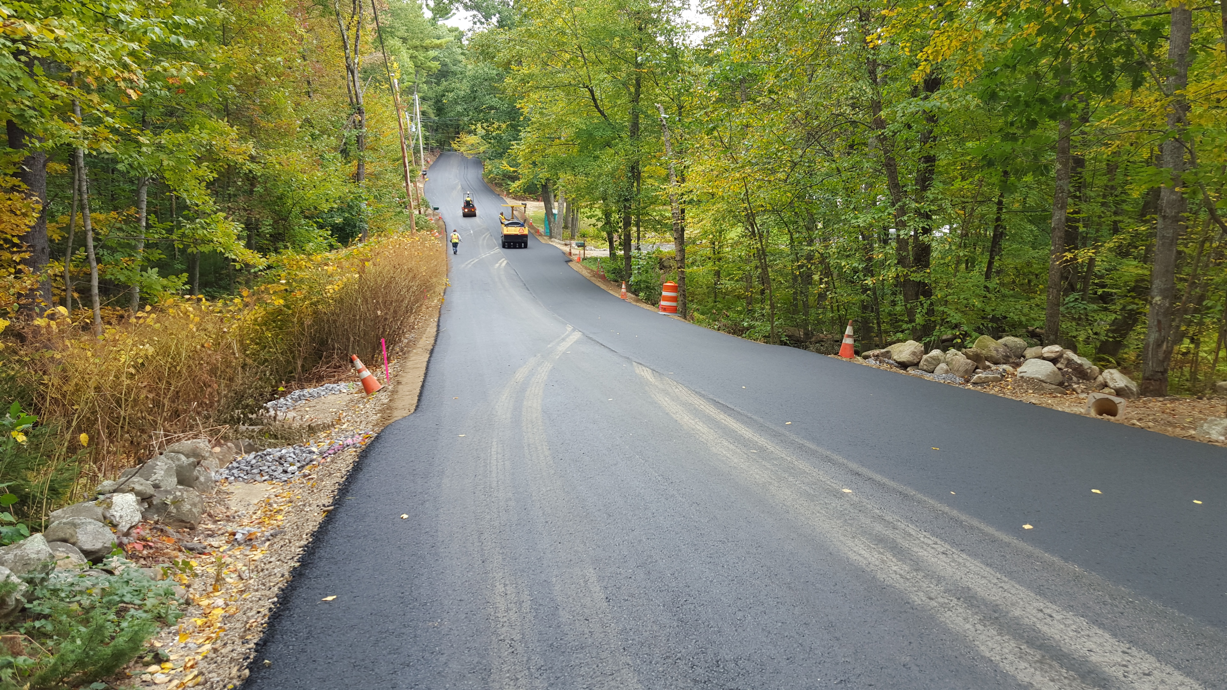 Hoosett Rd base paving 10 2 15 38